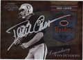 DAVE CASPER OAKLAND RAIDERS AUTOGRAPHED FOOTBALL CARD #82013C