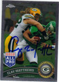 CLAY MATTHEWS GREEN BAY PACKERS AUTOGRAPHED FOOTBALL CARD #82313L