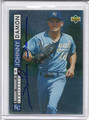 Johnny Damon Autographed Baseball Card 82210A