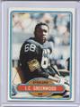 L. C. Greenwood Autographed Football Card #82210V