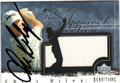 CHRIS RILEY AUTOGRAPHED PIECE OF THE GAME GOLF CARD #82413A