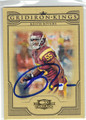KEITH RIVERS USC TROJANS AUTOGRAPHED ROOKIE FOOTBALL CARD #82613M