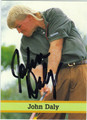 JOHN DALY AUTOGRAPHED GOLF CARD #82711K