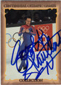 SCOTT HAMILTON OLYMPIC FIGURE SKATING AUTOGRAPHED CARD #82813A