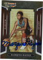 MARQUES HAYNES HARLEM GLOBETROTTERS AUTOGRAPHED BASKETBALL CARD #82813F