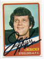 JACK HAM AUTOGRAPHED FOOTBALL CARD #82910D
