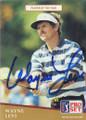 Wayne Levi Autographed Golf Card 835