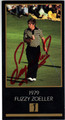 FUZZY ZOELLER AUTOGRAPHED GRAND SLAM VENTURES GOLF CARD #90113G