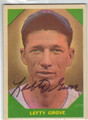 LEFTY GROVE BOSTON RED SOX AUTOGRAPHED VINTAGE BASEBALL CARD #90513M