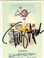 TONY HAWK AUTOGRAPHED SKATEBOARDING CARD #90613A