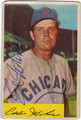 EDDIE MIKSIS CHICAGO CUBS AUTOGRAPHED VINTAGE BASEBALL CARD #90513D