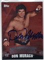 DON MURACO AUTOGRAPHED WRESTLING CARD #90713K