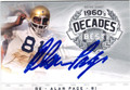 ALAN PAGE NOTRE DAME FIGHTING IRISH AUTOGRAPHED FOOTBALL CARD 90813E