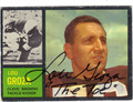 LOU GROZA CLEVELAND BROWNS AUTOGRAPHED VINTAGE FOOTBALL CARD #91013G