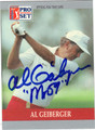 AL GEIBERGER AUTOGRAPHED GOLF CARD #91212J