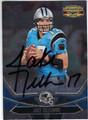 JAKE DELHOMME CAROLINA PANTHERS AUTOGRAPHED FOOTBALL CARD #91313H