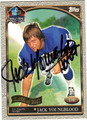 JACK YOUNGBLOOD AUTOGRAPHED FOOTBALL CARD #91512P