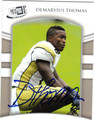 DEMARYIUS THOMAS GEORGIA TECH AUTOGRAPHED ROOKIE FOOTBALL CARD #91513J