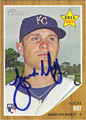 LUCAS MAY AUTOGRAPHED ROOKIE BASEBALL CARD #91611B