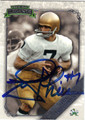 JOE THEISMANN AUTOGRAPHED FOOTBALL CARD #91812G