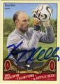 KASEY KELLER AUTOGRAPHED SOCCER CARD #91911E