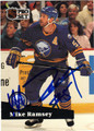 MIKE RAMSEY AUTOGRAPHED HOCKEY CARD #91912L