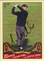 MIKE WEIR AUTOGRAPHED GOLF CARD #92011i