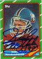 KARL MECKLENBURG AUTOGRAPHED ROOKIE FOOTBALL CARD #92112A