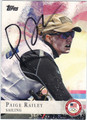 PAIGE RAILEY OLYMPIC SAILING AUTOGRAPHED CARD #91913H