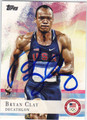 BRYAN CLAY OLYMPIC DECATHLON AUTOGRAPHED CARD #92113E