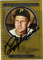 RALPH KINER PITTSBURGH PIRATES AUTOGRAPHED BASEBALL CARD #92212B
