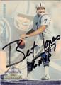BERT JONES AUTOGRAPHED FOOTBALL CARD #92212C