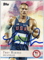 TREY HARDEE OLYMPIC DECATHLON AUTOGRAPHED CARD #91913F