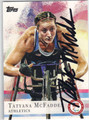 TATYANA McFADDEN AUTOGRAPHED OLYMPICS CARD #92213D