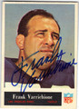 FRANK VARRICHIONE LOS ANGELES RAMS AUTOGRAPHED VINTAGE FOOTBALL CARD #92213H