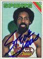 STEVE JONES AUTOGRAPHED VINTAGE BASKETBALL CARD #92412C