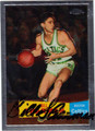 BILL SHARMAN AUTOGRAPHED BASKETBALL CARD #92412V