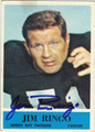 JIM RINGO AUTOGRAPHED VINTAGE FOOTBALL CARD #92512H