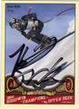 BODE MILLER AUTOGRAPHED SKIING CARD #92511i