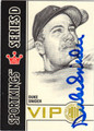 DUKE SNIDER AUTOGRAPHED BASEBALL CARD #92512D