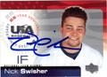 NICK SWISHER AUTOGRAPHED ROOKIE BASEBALL CARD #92612H