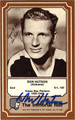 DON HUTSON AUTOGRAPHED VINTAGE FOOTBALL CARD #92612G