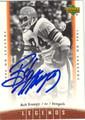 BOB TRUMPY AUTOGRAPHED FOOTBALL CARD #92712T