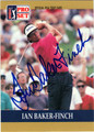 IAN BAKER-FINCH AUTOGRAPHED GOLF CARD #92812F