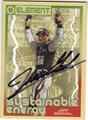 JEFF GORDON AUTOGRAPHED NASCAR CARD #92813D