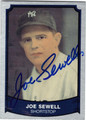 JOE SEWELL NEW YORK YANKEES AUTOGRAPHED BASEBALL CARD #92913C