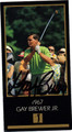 GAY BREWER JR AUTOGRAPHED GOLF CARD #93012K