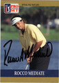 ROCCO MEDIATE AUTOGRAPHED GOLF CARD #93012N