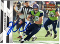 JOHN CARLSON SEATTLE SEAHAWKS AUTOGRAPHED FOOTBALL CARD #93013D