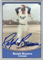 RALPH BRANCA BROOKLYN DODGERS AUTOGRAPHED BASEBALL CARD #11314E